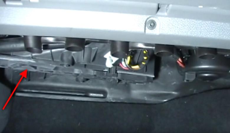 VW Golf 5 Pollenfilter Abdeckung