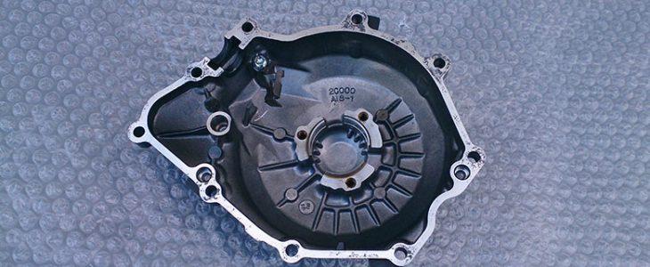 Lichtmaschinendeckel wechseln – Yamaha R6 RJ11 RJ15