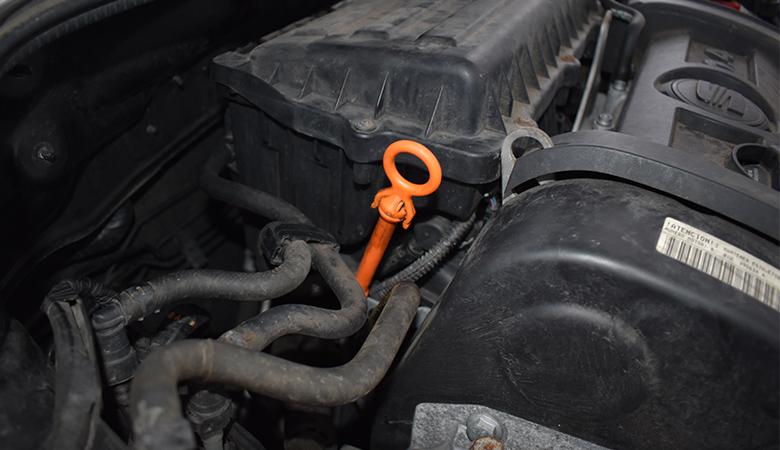 Auto Ölmessstab