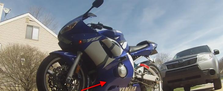 Ölwechsel – Yamaha R6 RJ03