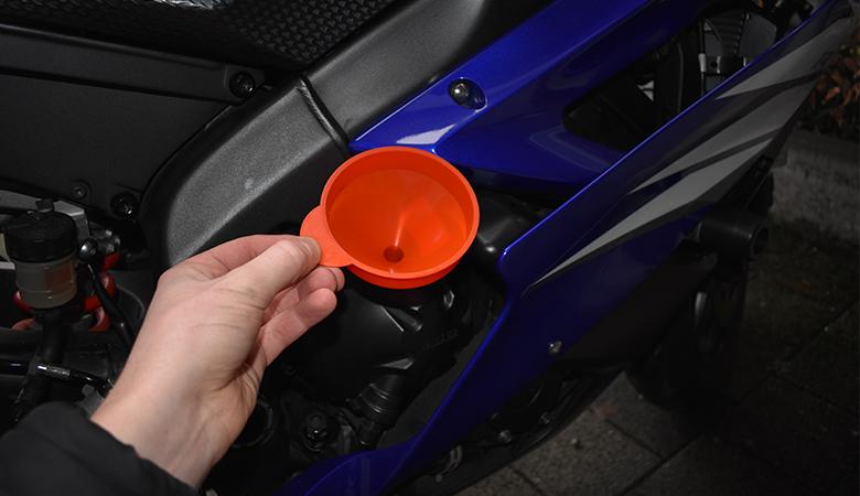 Yamaha R6 RJ11 RJ15 Öl einfüllen
