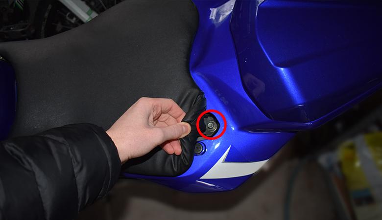 Yamaha R6 RJ11 RJ15 Fahrersitz