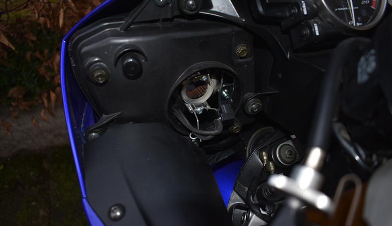 Yamaha R6 RJ11 RJ15 Scheinwerfer