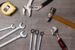Übersicht diverser Werkzeuge