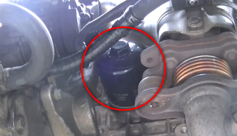 VW Golf 5 Ölfilter