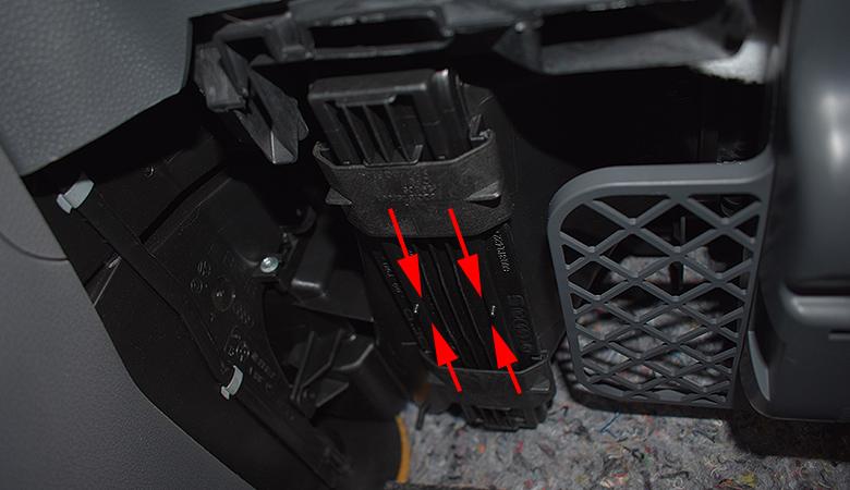Seat Ibiza 6J Innenraumfilter Pollenfilter Halteklammern