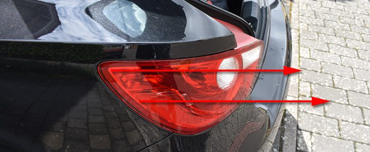 Rücklicht ausbauen – Seat Ibiza 6J 6P