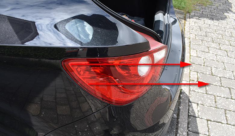 Seat Ibiza 6J Rücklicht herausziehen