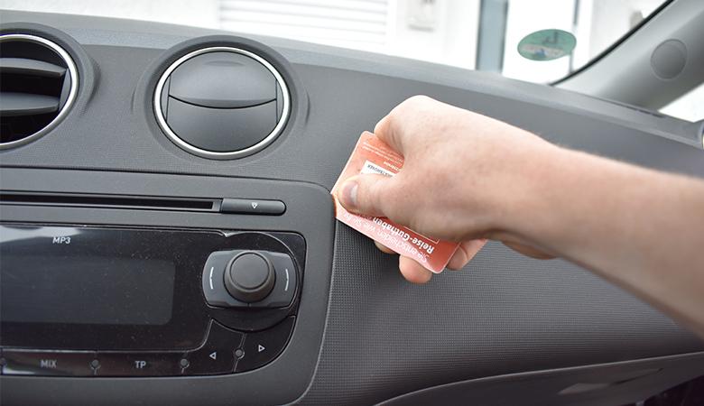 Seat Ibiza 6J Radio Blende / Abdeckung
