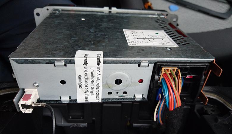 Seat Ibiza 6J Radio Kabel