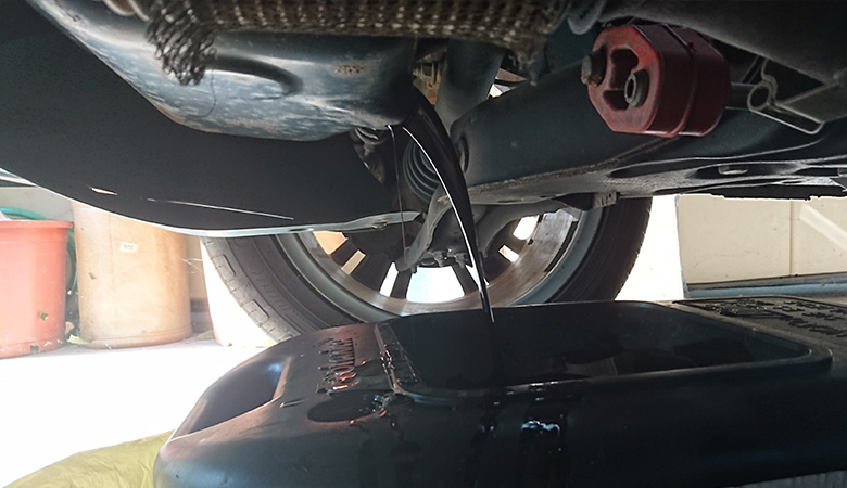 Seat Ibiza 6J Öl ablassen