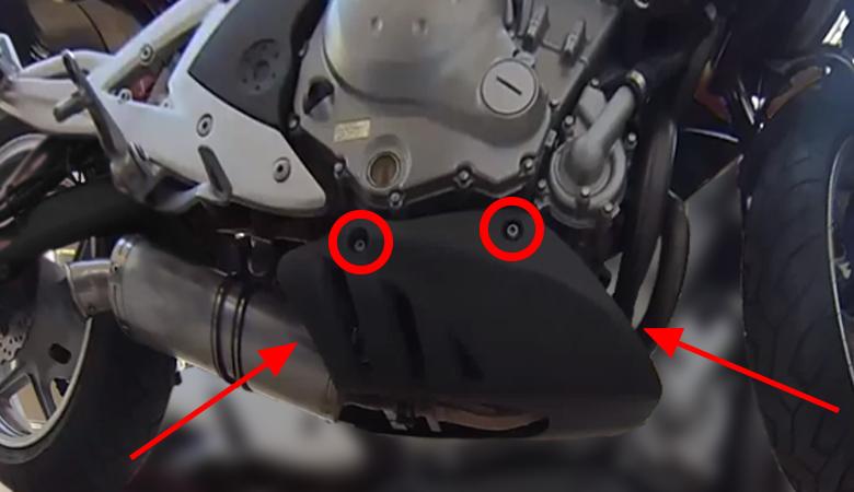 Kawasaki ER 6N Abdeckung unten