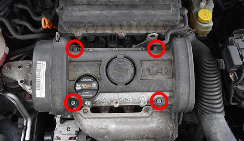 Seat Ibiza 6J Motorabdeckung