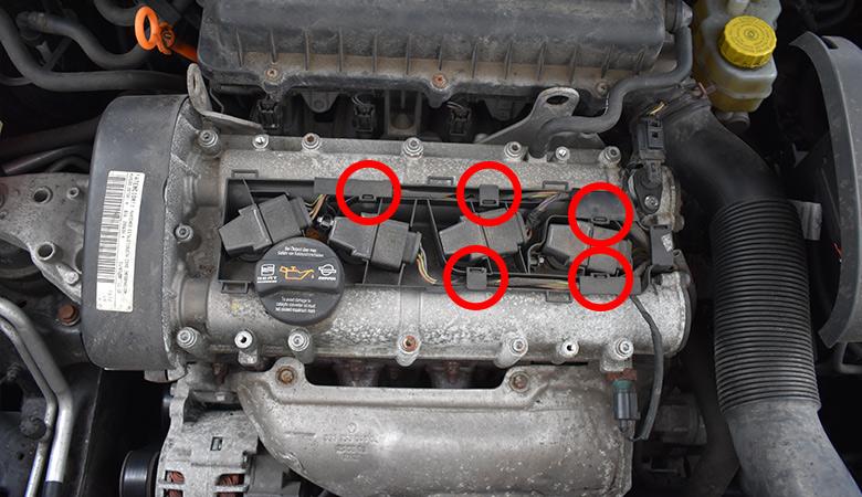 Seat Ibiza 6J Zündspule Kabel