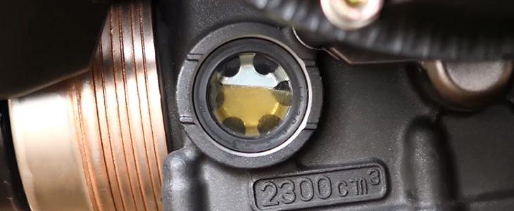 Ölwechsel – Yamaha MT-07