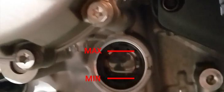 Ölwechsel – BMW S 1000 RR