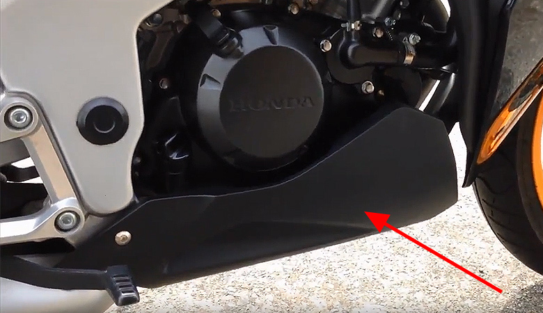 Honda CBR 125 untere Verkleidung
