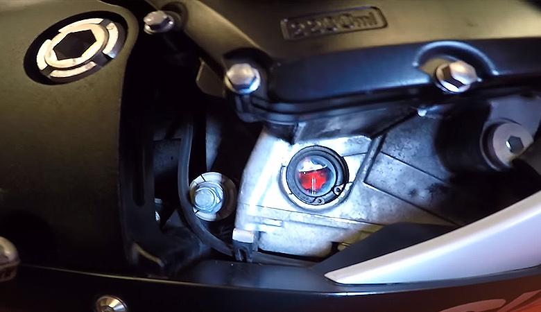 Suzuki GSX-R 600 K6 K7 Ölstand
