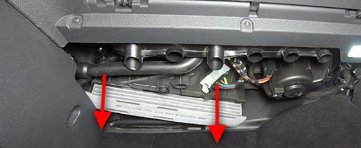 Pollenfilter / Innenraumfilter wechseln – Audi A4 B8