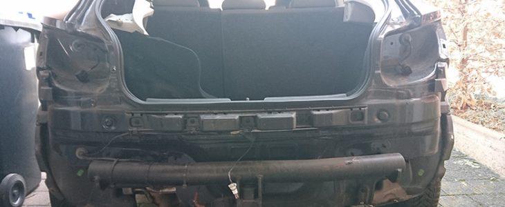 Heckstoßstange demontieren – Seat Ibiza 6J 6P
