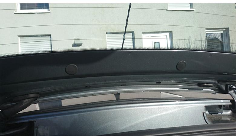 Seat Ibiza 6J 3. Bremsleuchte Gummistopfen
