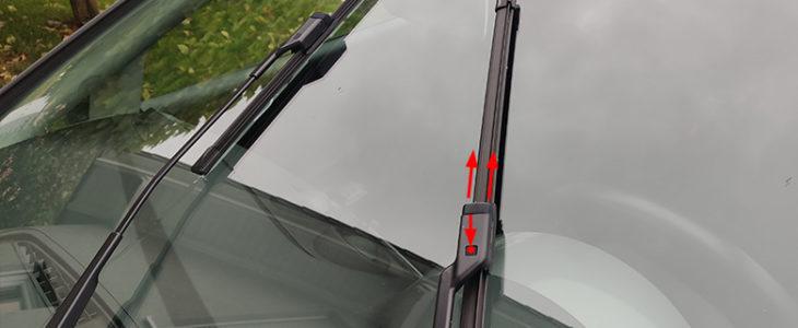 Scheibenwischer vorne / hinten wechseln – VW Golf 5