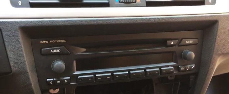 Radio ausbauen / wechseln – BMW 3er E90
