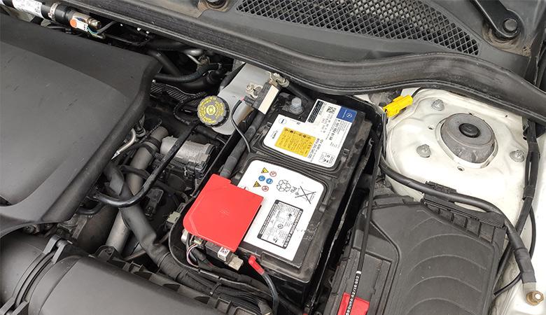 Mercedes A-Klasse W176 Batterie