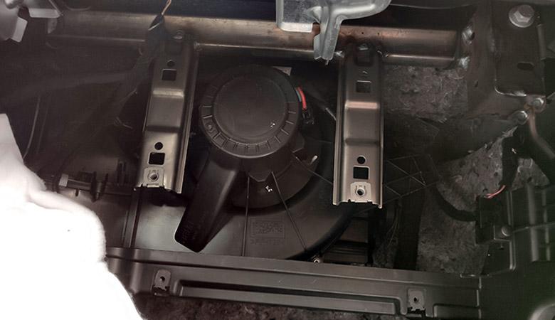 Seat Ibiza 6J 6P Gebläse Motor