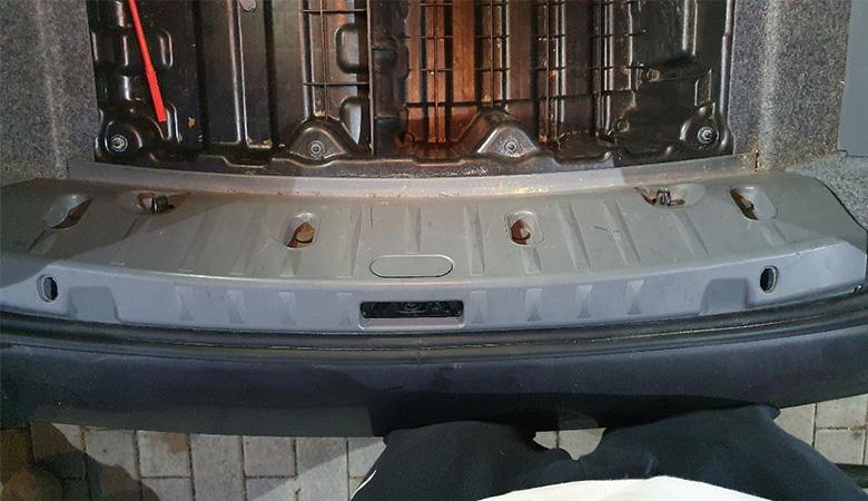 BMW 3er E90 Abdeckung Ladekante