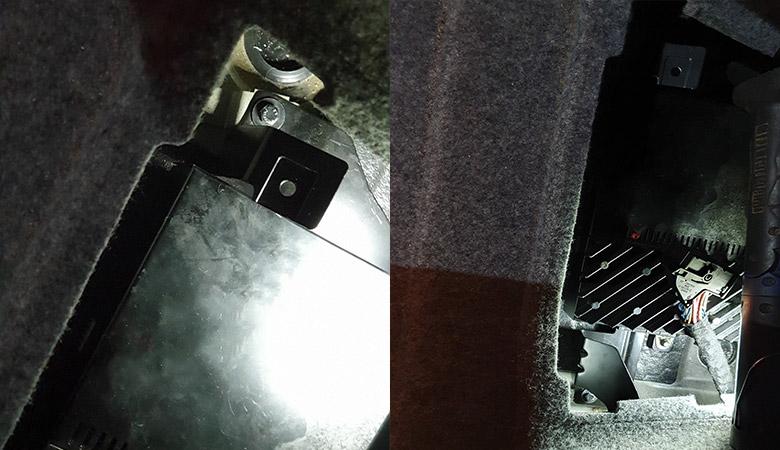 BMW 3er E90 Verstärker Halterung Schrauben