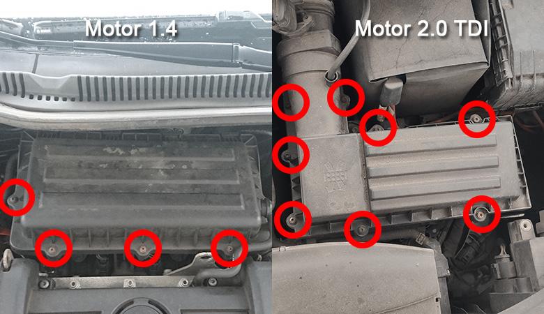 Luftfilterkasten VW Golf 6 1.4 und 2.0 TDi