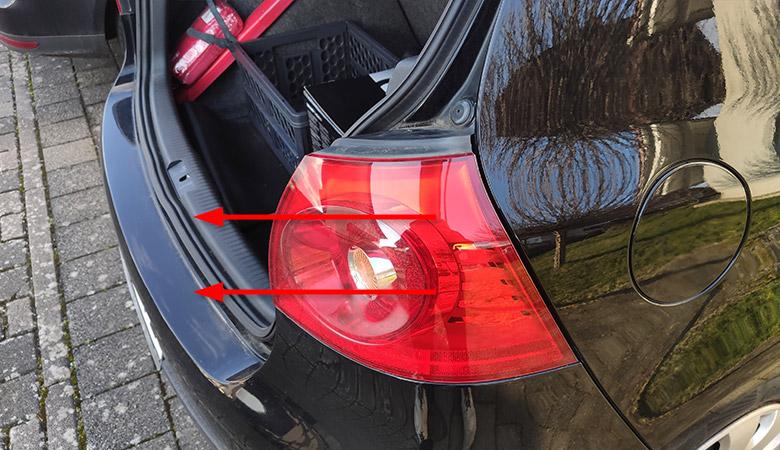 VW Golf 5 Rücklicht