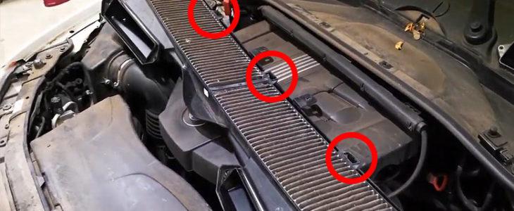 Pollenfilter / Innenraumfilter wechseln – BMW 1er E81 E87 E88