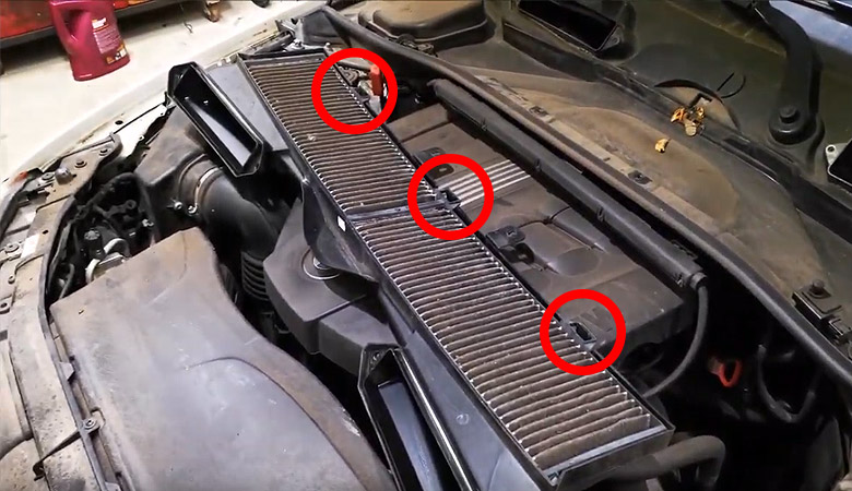 BMW 3er E90 Innenraumfilter Befestigungsklipse