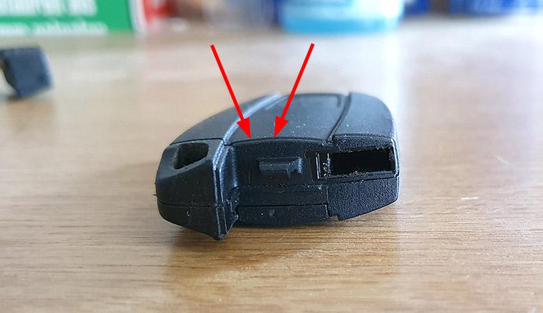BMW Schlüssel Abdeckung Batterie