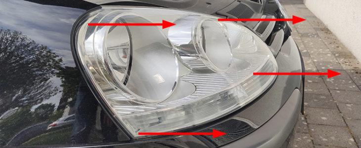 Scheinwerfer ausbauen – VW Golf 5