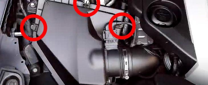 Luftfilter wechseln – BMW 1er E81 E87