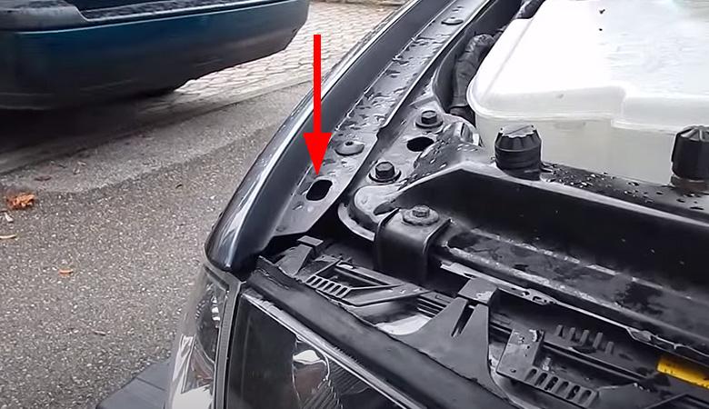 BMW 3er E46 Kotflügel Öffnung Blinker