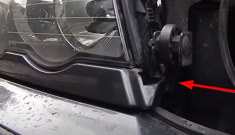 BMW 3er E46 Scheinwerfer Blende