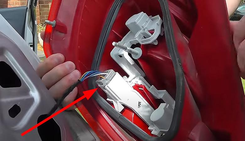 Ford Fiesta 09 MK7 Rücklicht Kabel
